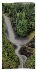 Bath Towel featuring the photograph Wallace Falls by Jeff Swan