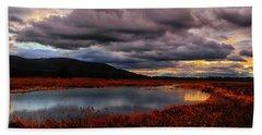 Wallkill River National Wildlife Refuge Bath Towel by Raymond Salani III
