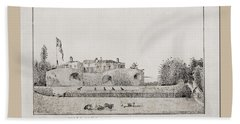 Walmer Castle Kent Hand Towel
