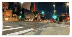 Walt Disney Concert Hall - Los Angeles Art Bath Towel