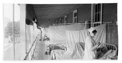 Walter Reed Hospital Flu Ward Hand Towel