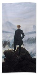 Wanderer Above The Sea Of Fog Hand Towel