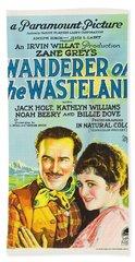 Wanderer Of The Wasteland 1924 Bath Towel