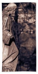 Wandering Lady Of Myrtle Hill Bw Hand Towel