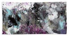 Wanderlust- Abstract Art By Linda Woods Bath Towel