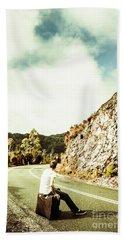 Wanderlust Southwest Tasmania Bath Towel