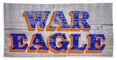 War Eagle Bath Towel