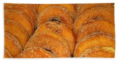 Warm Cider Donuts Bath Towel