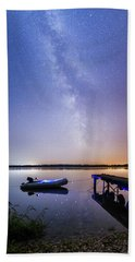 Warm Summer Night Bath Towel