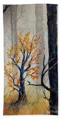 Warmth In Winter Hand Towel