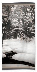 Warmth Of A Winter Day Hand Towel