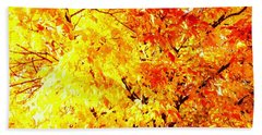 Warmth Of Fall Hand Towel