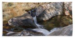 Warren Falls Hand Towel by Sharon Seaward