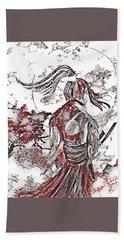 Warrior Moon Anime Bath Towel
