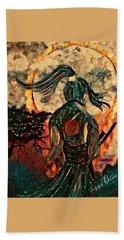 Warrior Moon Hand Towel