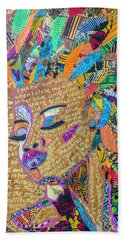 Warrior Woman Hand Towel