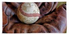 Wartime Baseball Hand Towel