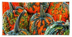 Warty Pumkins  Hand Towel
