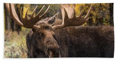 Washakie In The Autumn Beauty Hand Towel