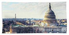 Washington Dc Building 9i8 Bath Towel by Gull G