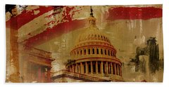 Washington Dc Hand Towel
