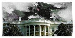 Washington Dc, White House Bath Towel