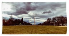 Washington Monument Bath Towel