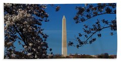 Washington Monument Bath Towel