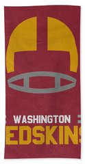 Washington Redskins Vintage Art Hand Towel