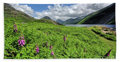 Wastwater Foxgloves Hand Towel