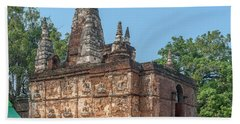 Hand Towel featuring the photograph Wat Jed Yod Maha Vihara Jedyod Dthcm0902 by Gerry Gantt