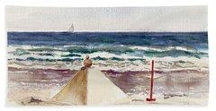 Watch Hill Ri Sand Sculpture Hand Towel