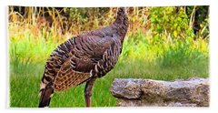 Watch Out Mr. #wild #turkey, I Would Hand Towel by Austin Tuxedo Cat