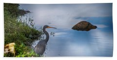 Bath Towel featuring the photograph Watchful  by Judy Hall-Folde