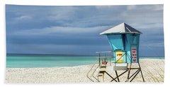 Lifeguard Tower Florida Gulf Coast Hand Towel