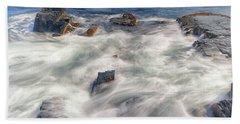 Water And Rocks Bath Towel