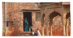 Water Delivery In Vrindavan Bath Towel