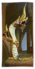 Water Dragon-  Phaya Naga Hand Towel