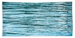 Water Flow Hand Towel by Steve Gadomski