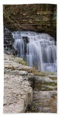 Water In Motion Hand Towel