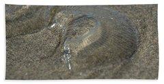 Water Jelly Fish Bath Towel by Loriannah Hespe