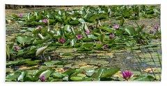 Water Lilies At Giverny - 2 Bath Towel