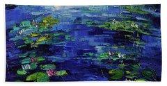 Water Lilies Magic Bath Towel