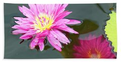 Water Lilies Bath Towel