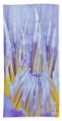 Water Lily Nature Fingers Bath Towel by Carol F Austin