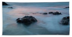 Water Music Bath Towel by Mark Alder