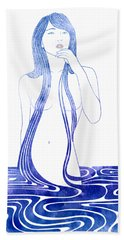 Water Nymph C Bath Towel