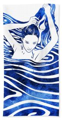 Water Nymph Iv Hand Towel