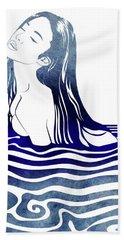 Water Nymph Viii Hand Towel