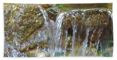 Water On The Rocks Hand Towel